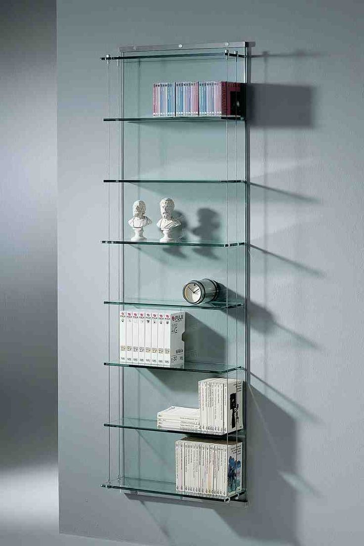 38 best glass shelves images on Pinterest | Glass shelves, Cabinets ...