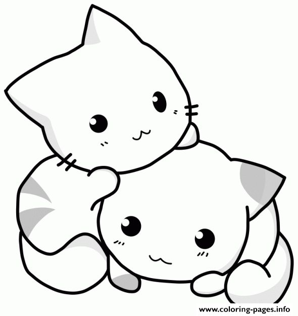 Print cute cat coloring pages | Math | Pinterest | Cat coloring page ...
