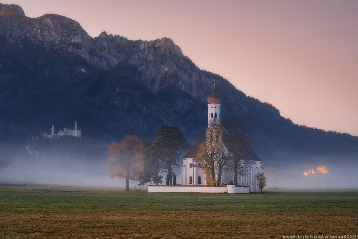 Фотограф Александр Науменко (Aleksandr Naumenko) - Германия. Бавария. Церковь St. Coloman (Schwangau) #1548762. 35PHOTO