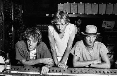 images of sting and the police in their younger days | hover to magnify