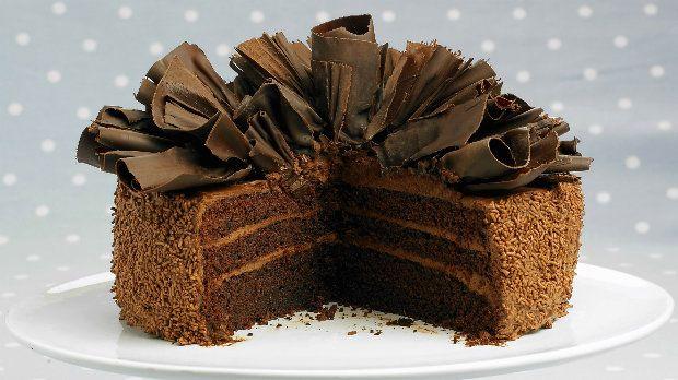 Nadýchaný čokoládový dort Foto: