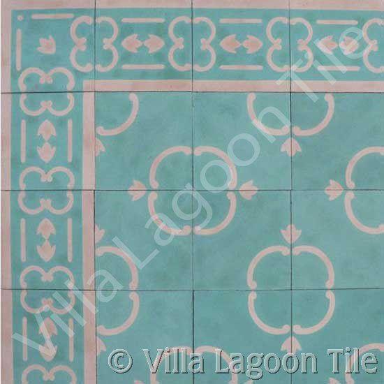 Caribbean historic  tile