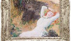 Preislerovy Tři dívky v lese se v aukci vydražily za osm milionů korun