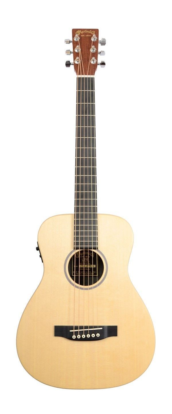 Martin LX1E Little Martin Electro Acoustic Guitar- I bought this myself it's so great! I'd recommend it for anyone! Beginners or a travel guitar for pros it's great! #TravelGuitar