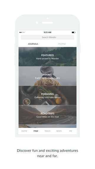 Wander Co – Location-based Photo Journals by Timothy Sakhuja