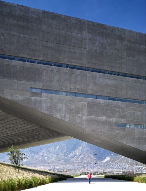 Monterey, Mexico   Tadao Ando's Centro Roberto Garza Sada (CRGS) on the campus of the University of Monterrey, Mexico