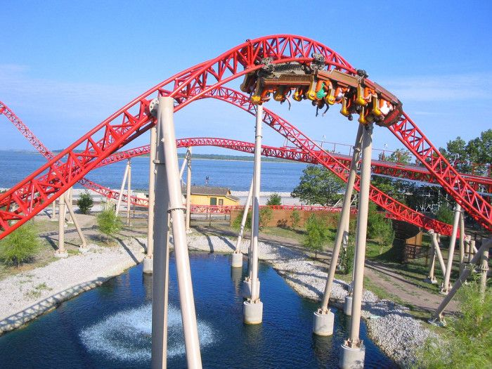 Cedar Point in Sandusky is, literally, the Roller Coaster Capital of the World and has been deemed the Word's Best Amusement Park for multiple years.