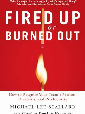 Download this ebook, Fired Up or Burned Out today for FREE ($14.99 Value), learn to increase the fire and passion inside people to achieve their potential.