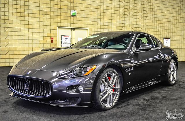 Maserati GranTurismo. On July 27 Raffaldini Vineyards will play host to a number of Italian cars such as the Maserati. Join us! www.raffaldini.com