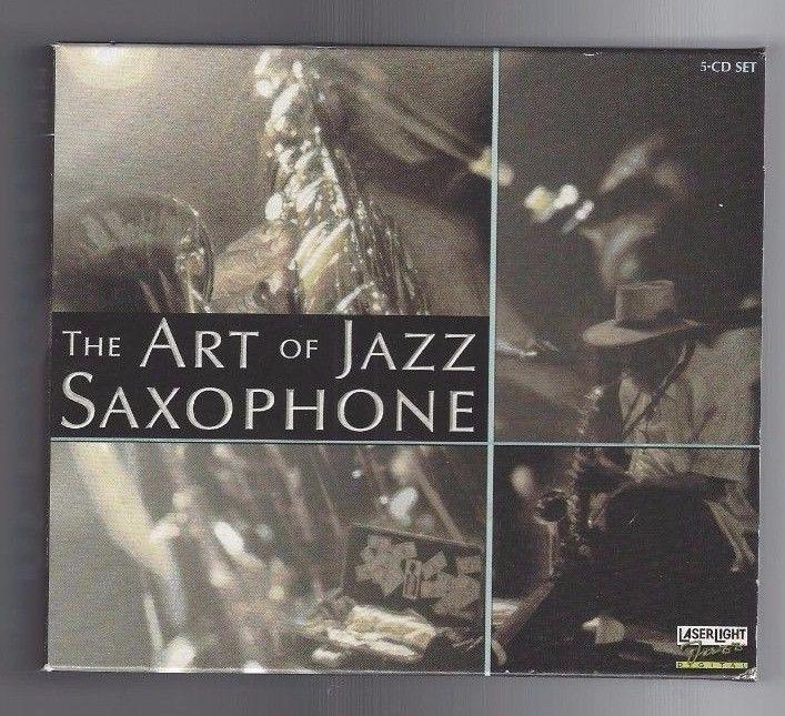 THE ART OF JAZZ SAXOPHONE  FIVE (5) CDS  (Delta Music 1997)