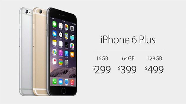 Meet the iPhone 6 Plus and its 5.5-inch, 1080p Retina Display HD
