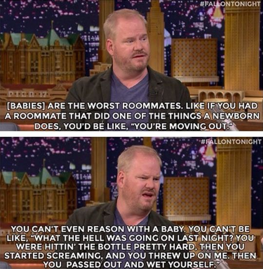 Jim Gaffigan on Babies  // funny pictures - funny photos - funny images - funny pics - funny quotes - #lol #humor #funnypictures