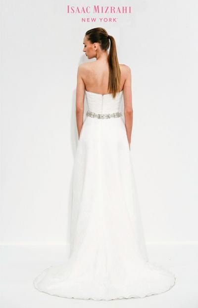 Designer wedding dress gallery isaac mizrahi for for Kleinfeld wedding dress designers