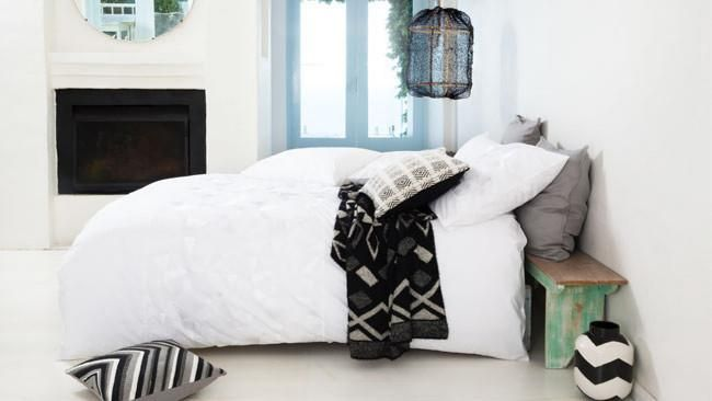 I just want to jump into this bed. Modern monochrome for the home | Homelife