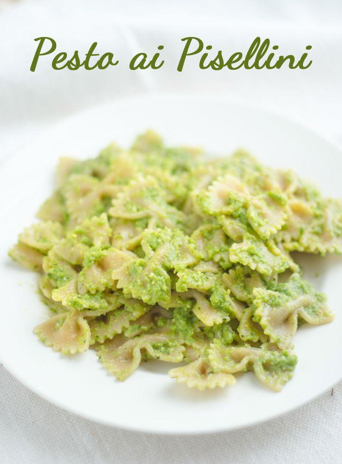 Ho Sposato Un Vegetariano: Pesto ai Pisellini