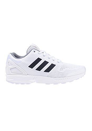 ZX Flux, Baskets Basses Homme, Noir (Core Black/Core Black/Footwear White), 38 EUadidas