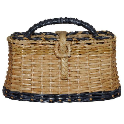 Wicker Purse Basket