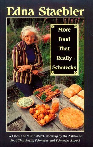 More Food That Really Schmecks by Edna Staebler http://www.amazon.com/dp/0771082584/ref=cm_sw_r_pi_dp_Bdzwvb1THEBT2