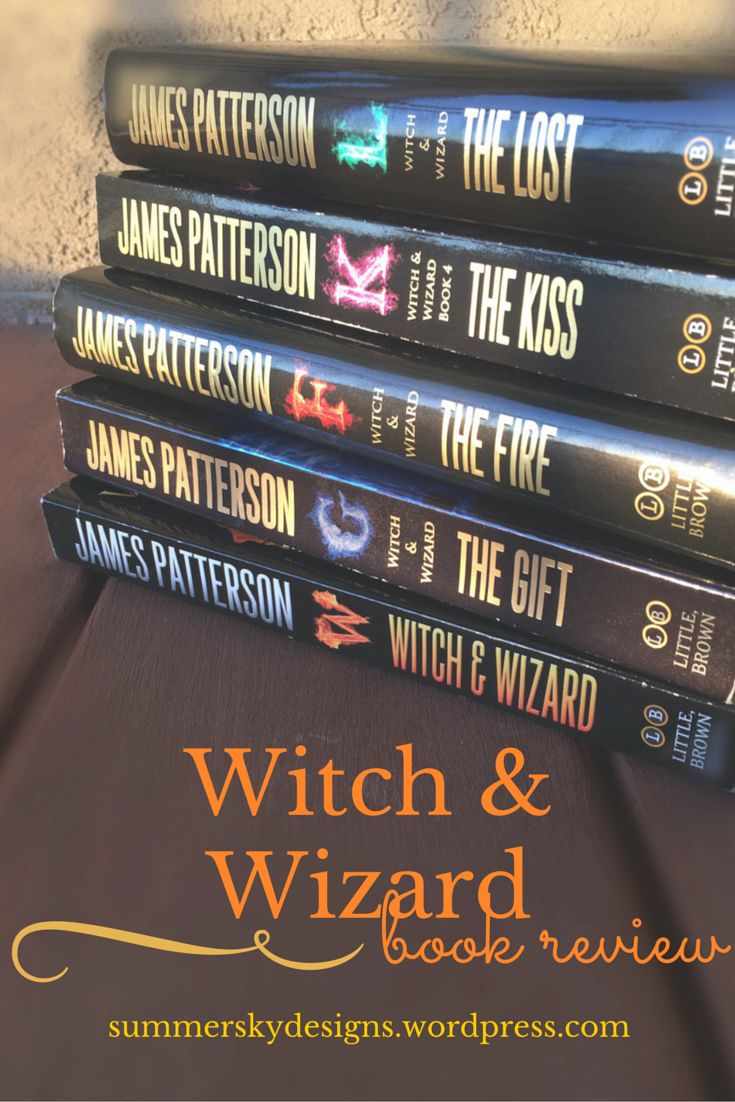 Book Review on the series Witch & Wizard by James Patterson- a great read for teens of all ages! ||from Summer Sky at summerskydesigns.wordpress.com||