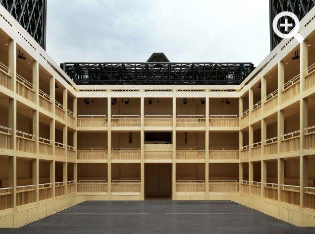 Shakespeare Theatre, Gdańsk, Poland, by Renato Rizzi.