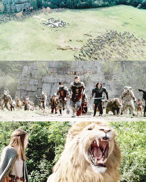 Narnia!!! Just watched this a few min ago. What a coincidence that this should show up in my feed. Lol