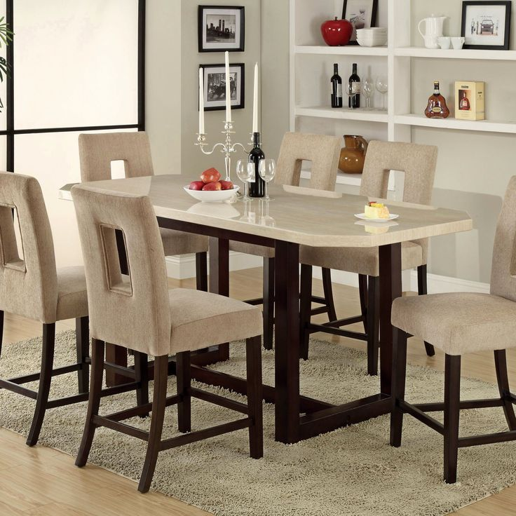 41 Best Kitchen Islands Images On Pinterest  Dining Room Tables Captivating Pub Height Dining Room Sets Review