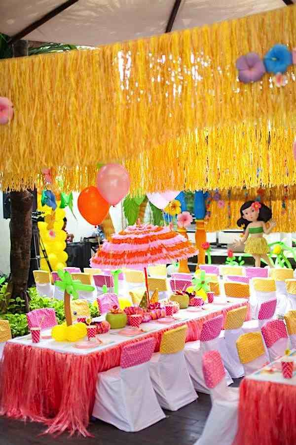 Tropical Luau Party Ideas Luau Party