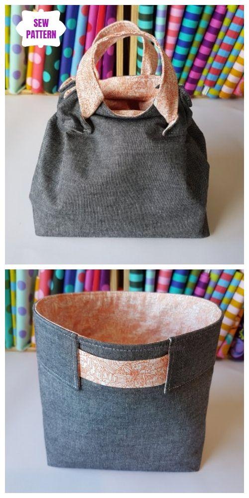 The Woppet Bucket Sew Pattern