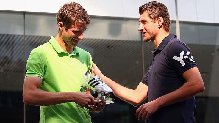 """Simon and Thomas Müller - here's what Simon said, """"I graciously left my share of the talent to Thomas. It's better to have one full-professional player in the family than two half-professional ones."""" :D"""