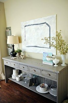 Gray gray gray louise loves good interior design for Best thing to line kitchen cabinets