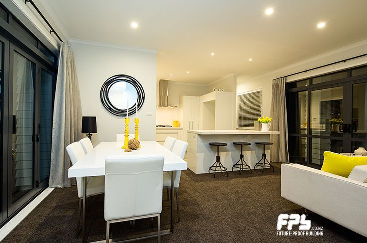 Dining/Kitchen. Come visit the showhome at Lot 9 - 2 Tuatini Place , Long Bay , Long Bay, Auckland Hours: Wednesday - Sunday 12pm - 4pm