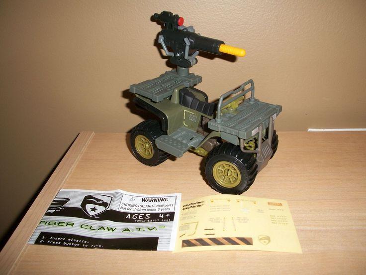 GI Joe Rise of Cobra ROC Tiger Claw ATV vehicle loose no figure 2009