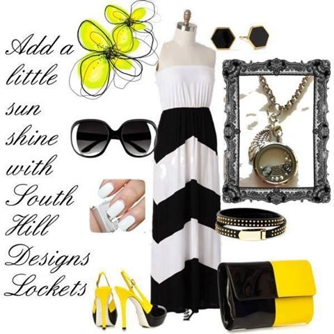 Add a little sunshine with South Hill Designs Lockets! Join our team! www.facebook.com/southhilldesignswithsarah