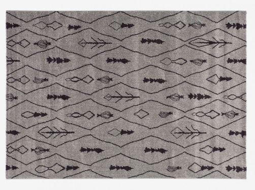 MONOQI | 170x120 Tassala 2 Rug - Grey