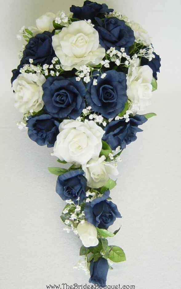 Navy Blue And White Wedding Bouquets : Best wedding ideas navy blue images on