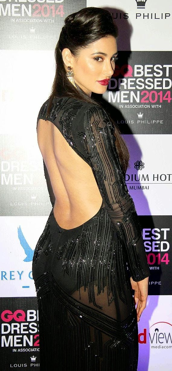 Nargis-fakhri-in-hot-transparent-dress-gq-best-dressed-men-2014