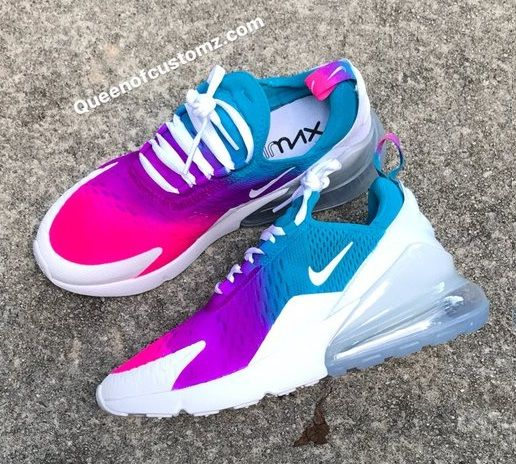 low priced 636c8 ebfc2 Custom Nike Air MaX 270