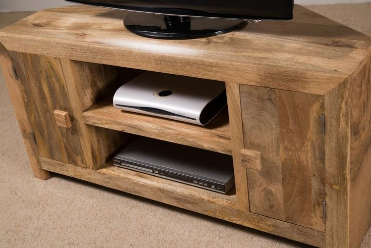 Mango Wood Corner Tv Cabinets
