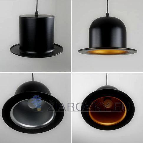Závesné kreatívne svietidlo v tvare klobúka je unikát vďaka kvalitnému materiálu, modernému a kreatívnemu prevedeniu a jedinečnosti. Je vhodné ako dekoračné svietidlo do reštaurácií, hotelov, barov, chalúp alebo do Vašej domácnosti na spestrenie dizajnu. Toto nevšedné kreatívne svietidlo neostane bez povšimnutia. Jedná sa o originálne umelecké svietidlo v kreatívnom vzhľade.