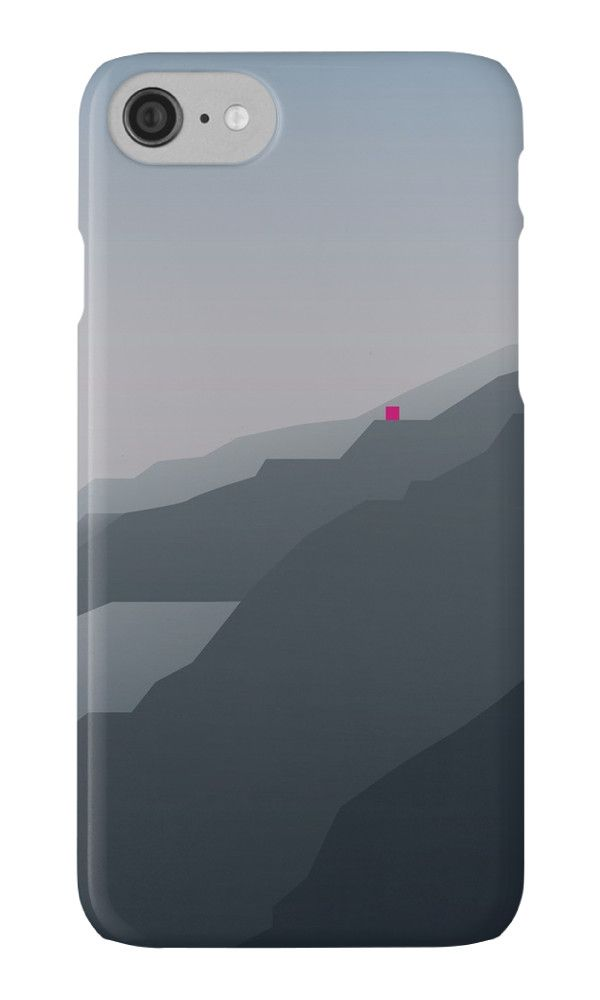 """For every new #iPhone7, there's a perfect #case."" Find out on my @redbubble >  http://rdbl.co/2cIX36V  MISTY MOUNTAINS by bembureda #apple #case #seven #new"