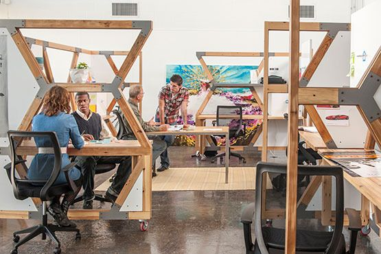 Stanford University Purchases Hive Workstations From Abeo Design Llc A Sustainable Furniture