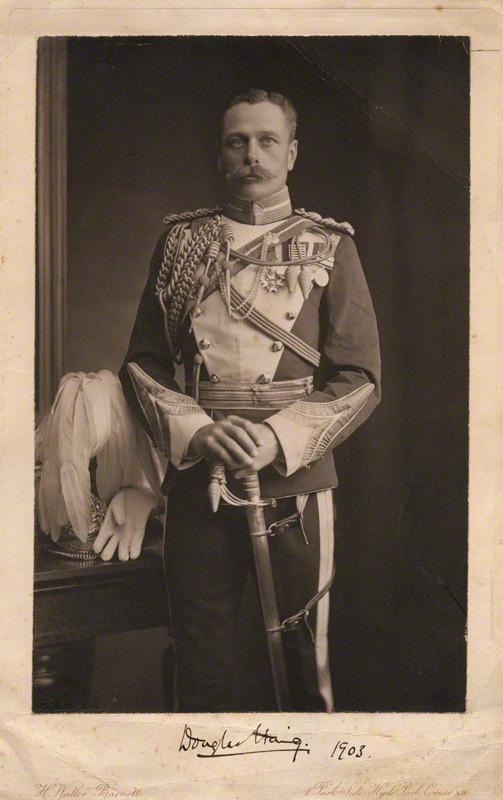 Douglas Haig in the uniform of the 17th Lancers (Duke of Cambridge's Own).