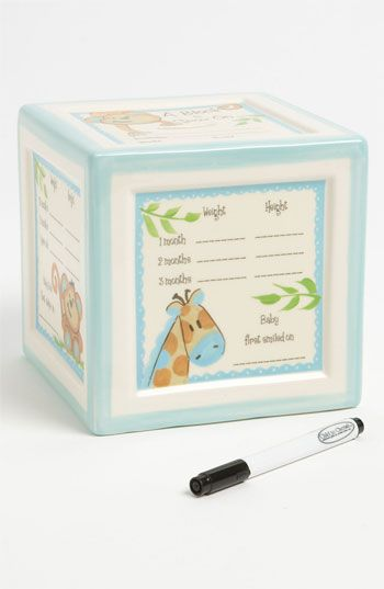 Child To Cherish 'Block To Grow On' Ceramic Bank available at #Nordstrom