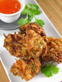 sio-smutki! Monika od kuchni: Pakora z sałaty lodowej z kurczakiem i orzeszkami ziemnymi