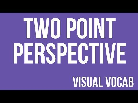 Two Point Perspective defined - From Goodbye-Art Academy - YouTube