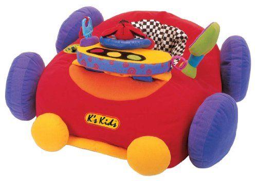 K S Kids Jumbo Go Go Go Toy Giant Sit In Soft Car For