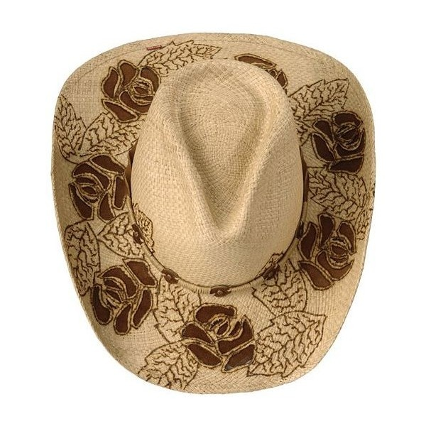 Bullhide Kiss From A Rose Straw Cowboy Hat - Sheplers ( 30) found on  Polyvore  c0e3161bec3