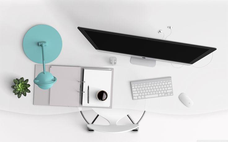 Computer Desk Wallpaper
