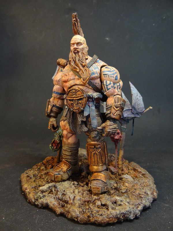 warhammer dwarf slayer warhammer custom action figure