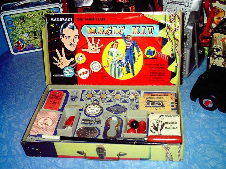 Vintage magic set